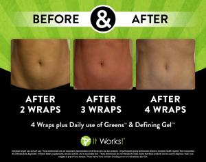2016-2 wrap buik plus greens en defining gel na 4 wraps